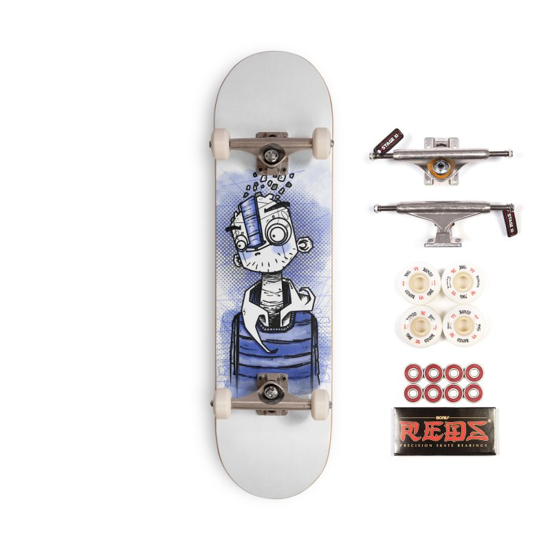 happy men Accessories Complete - Pro Skateboard by manuvila
