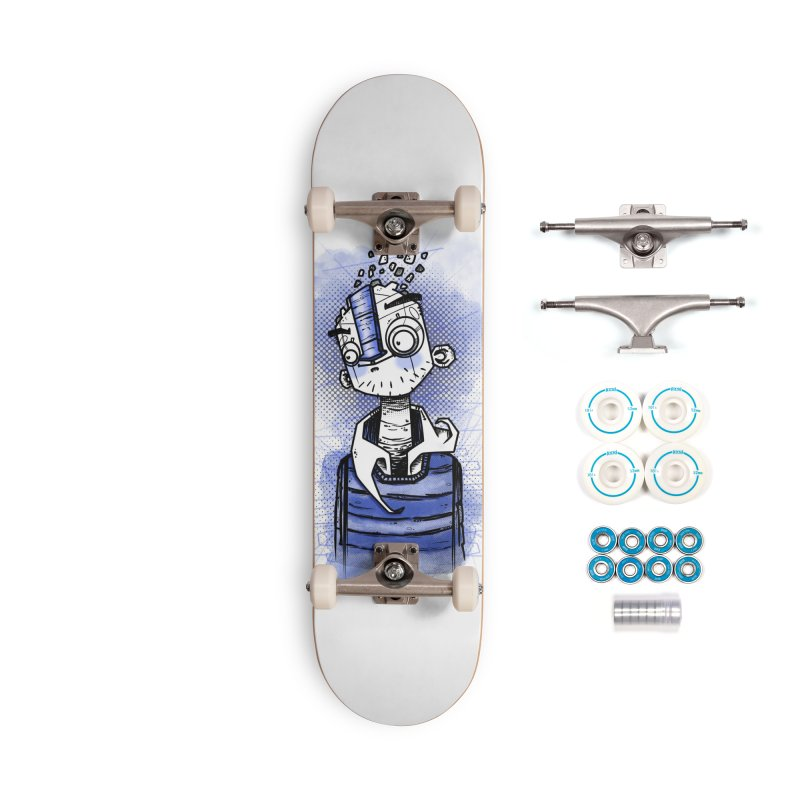 happy men Accessories Complete - Basic Skateboard by manuvila