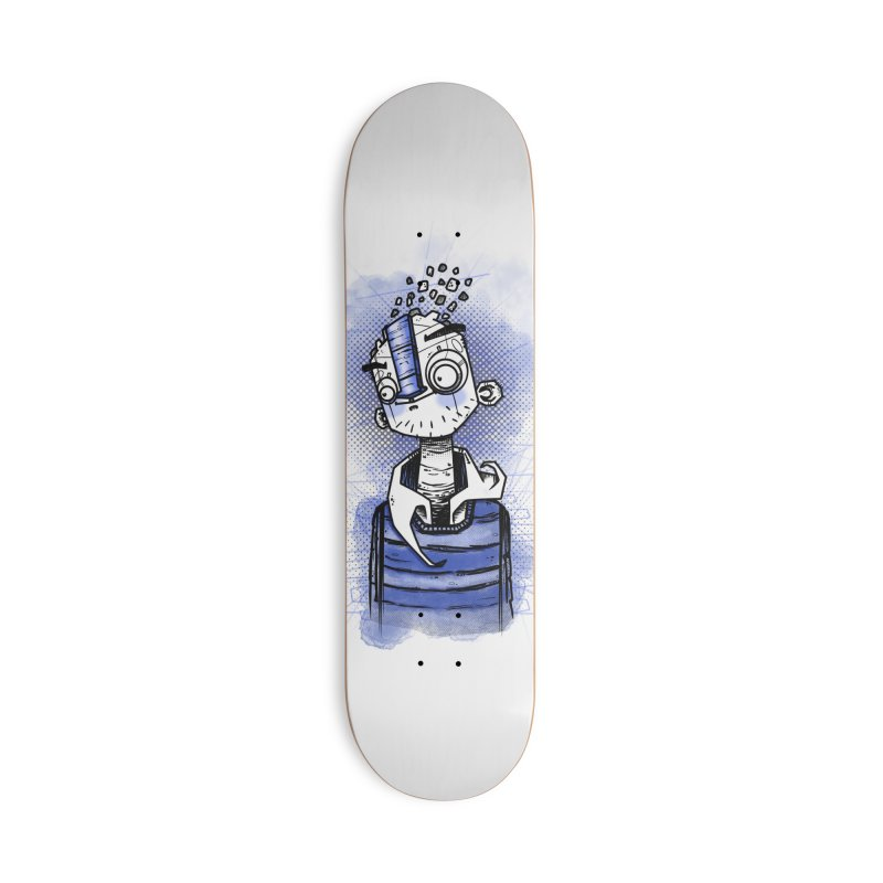 happy men Accessories Deck Only Skateboard by manuvila
