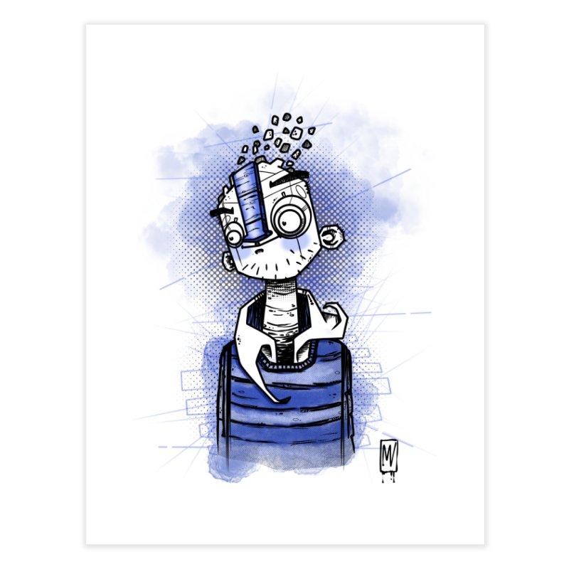 happy men Home Fine Art Print by manuvila