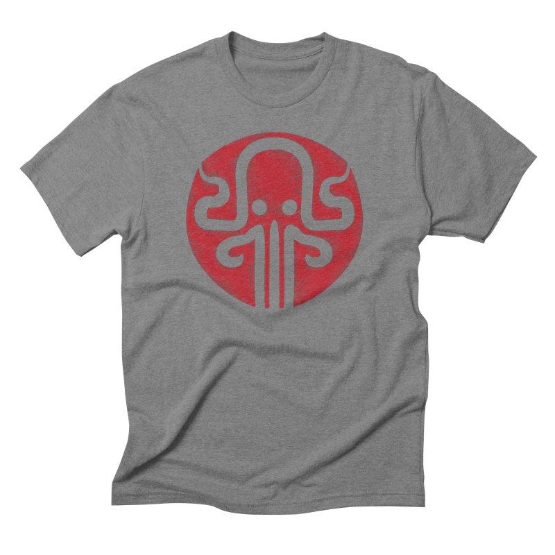 red kraken Men's Triblend T-Shirt by manuvila