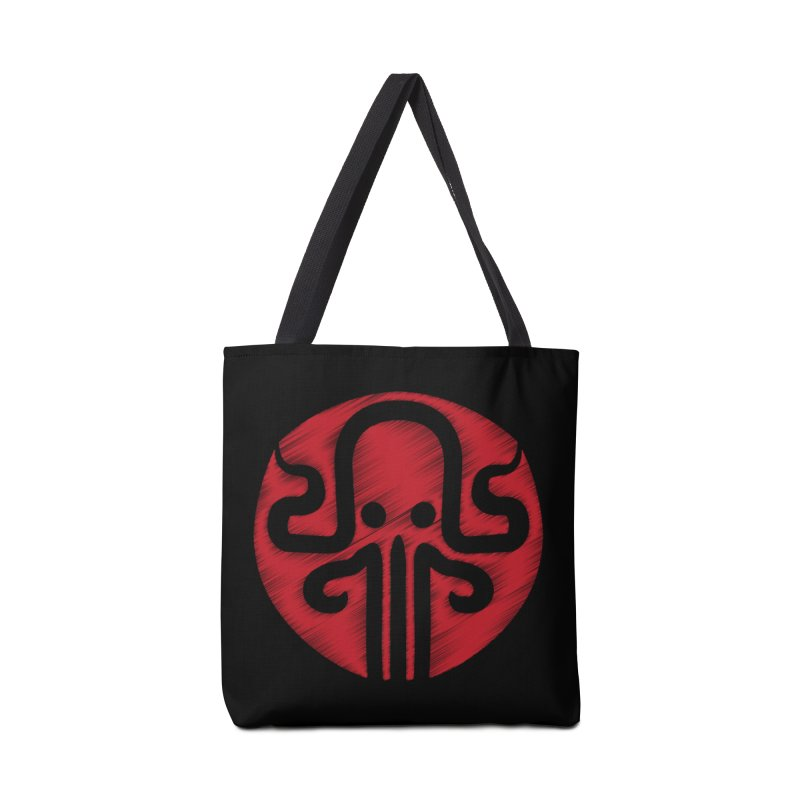 red kraken Accessories Tote Bag Bag by manuvila