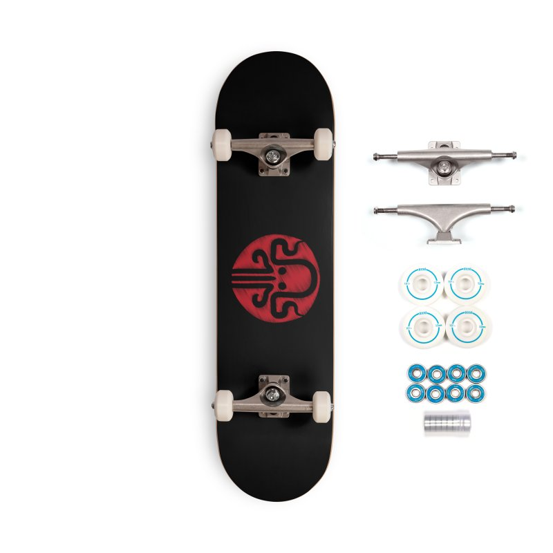 red kraken Accessories Complete - Basic Skateboard by manuvila