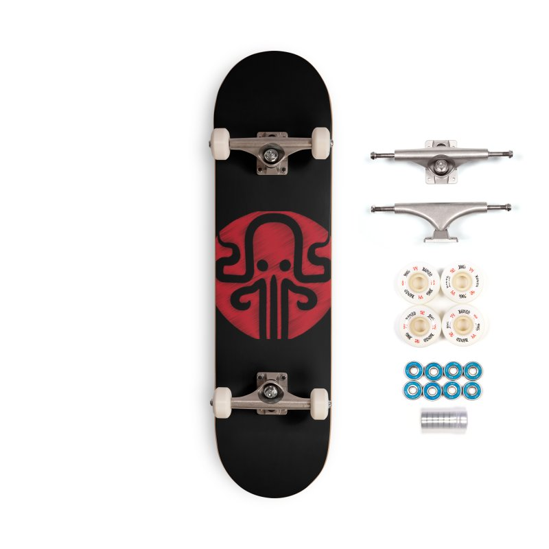red kraken Accessories Complete - Premium Skateboard by manuvila