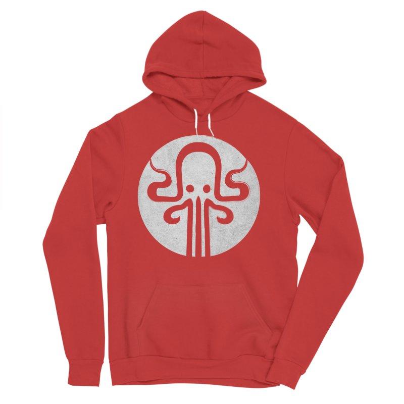 octopus gray logo Men's Pullover Hoody by manuvila