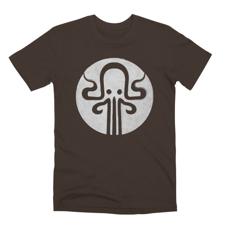 octopus gray logo Men's Premium T-Shirt by manuvila
