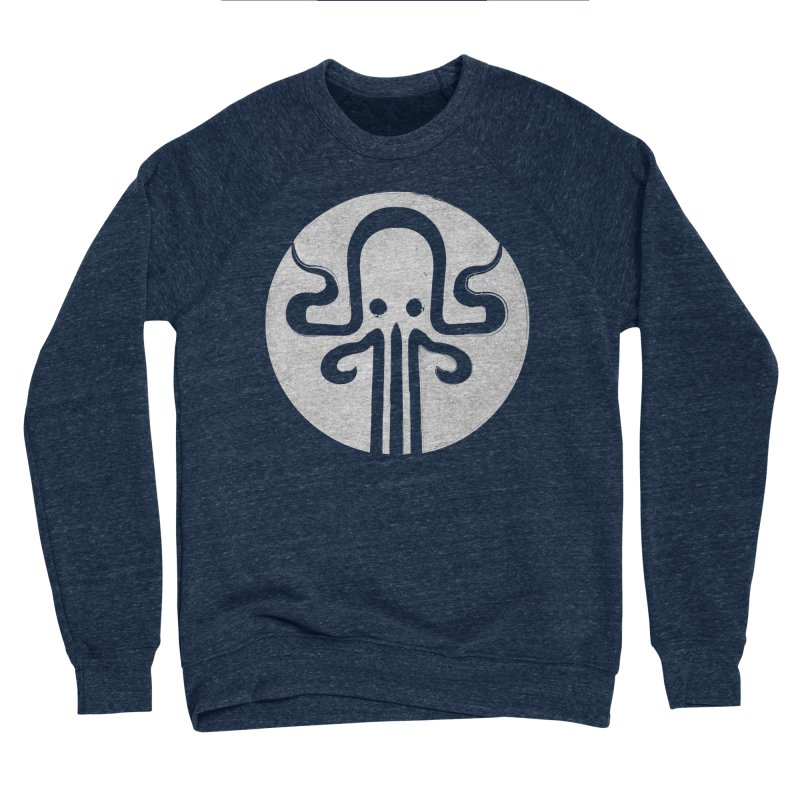 octopus gray logo Women's Sponge Fleece Sweatshirt by manuvila