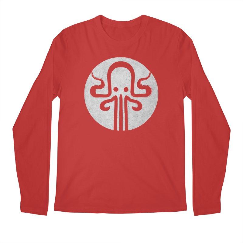 octopus gray logo Men's Regular Longsleeve T-Shirt by manuvila