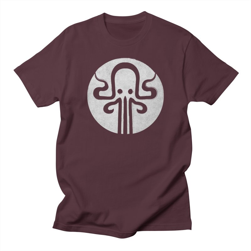 octopus gray logo Men's Regular T-Shirt by manuvila