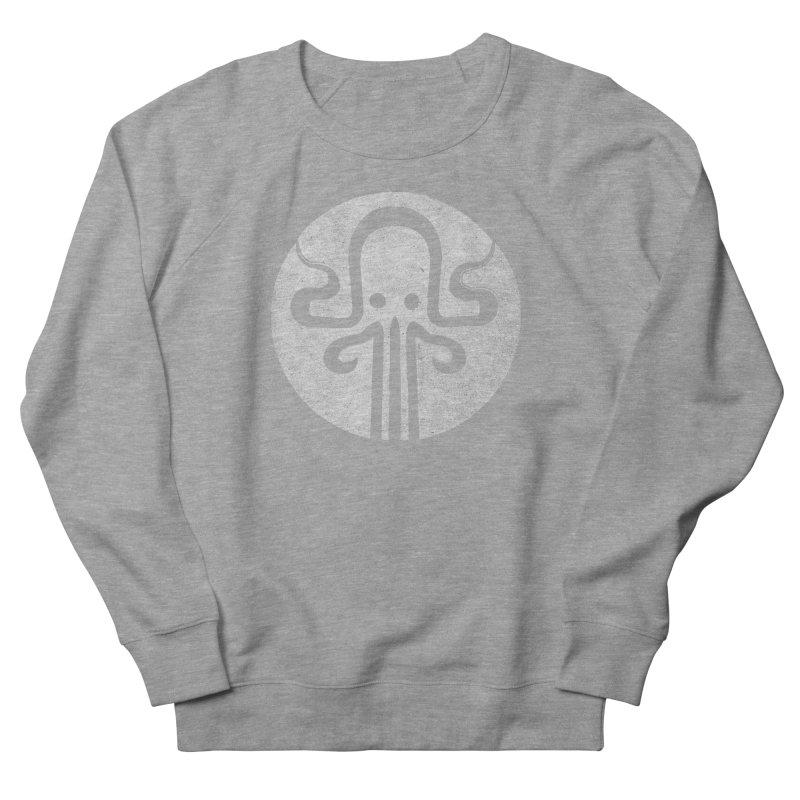 octopus gray logo Women's French Terry Sweatshirt by manuvila