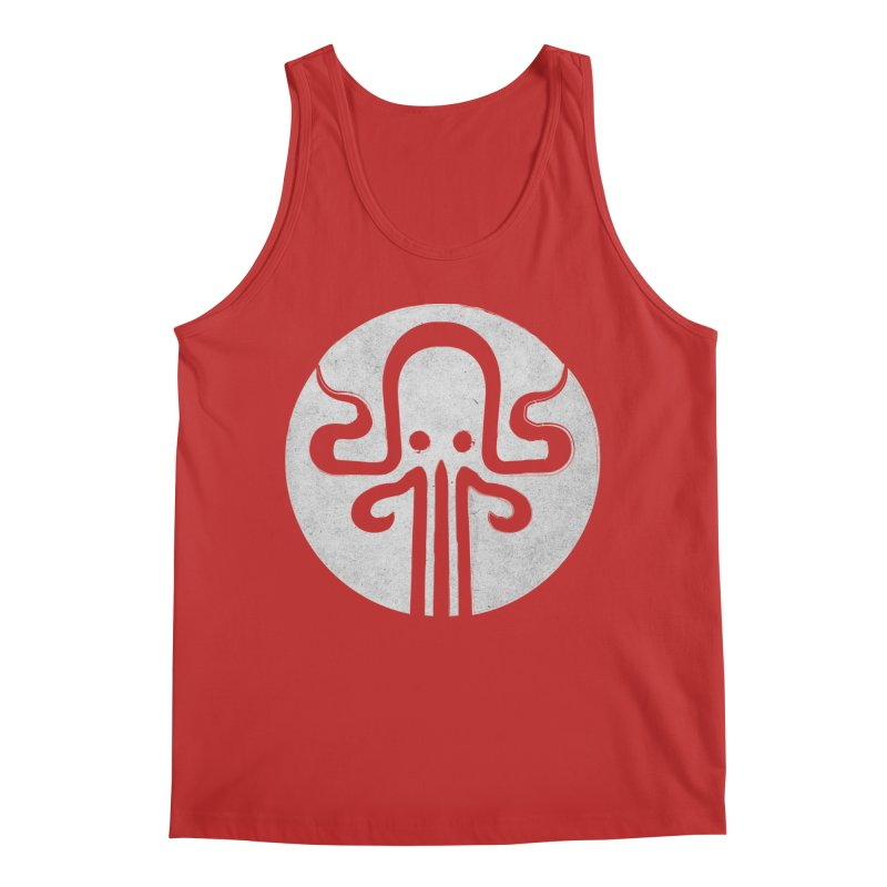 octopus gray logo Men's Regular Tank by manuvila