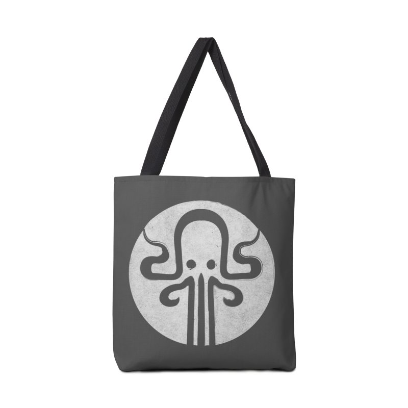 octopus gray logo Accessories Tote Bag Bag by manuvila