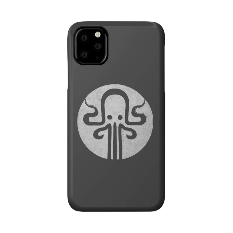 octopus gray logo Accessories Phone Case by manuvila
