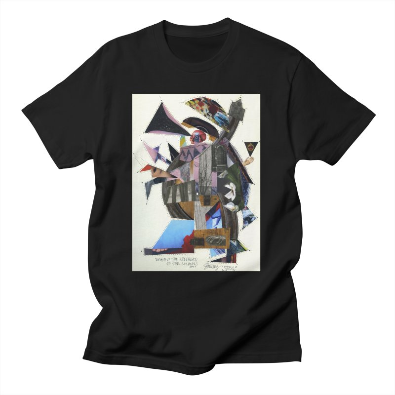 Death is the shepherd of the cosmos Men's T-Shirt by manyeyescity's Artist Shop