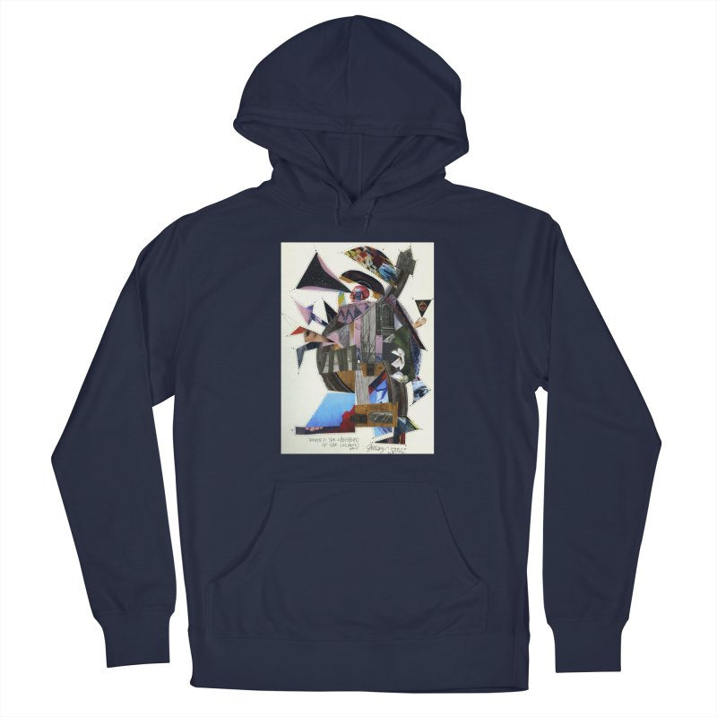 Death is the shepherd of the cosmos Men's Pullover Hoody by manyeyescity's Artist Shop