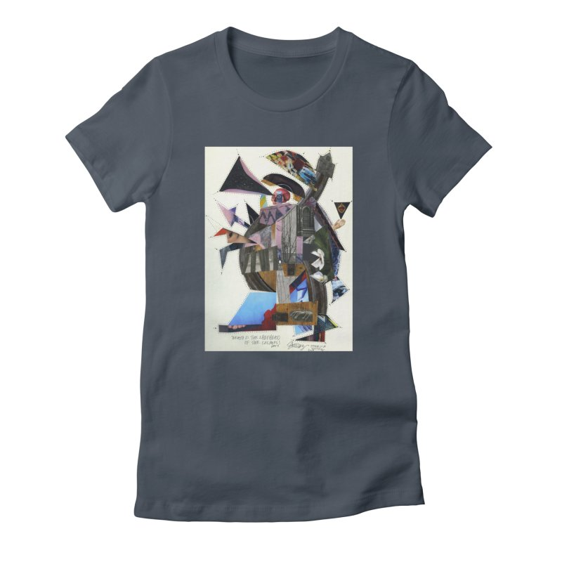 Death is the shepherd of the cosmos Women's T-Shirt by manyeyescity's Artist Shop