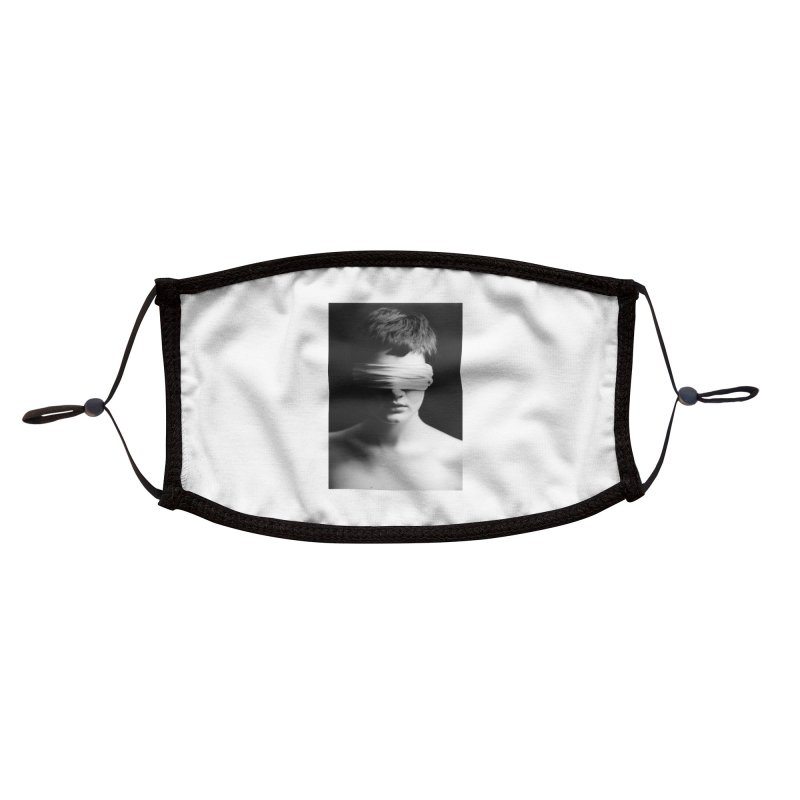 Blindness Accessories Face Mask by manyeyescity's Artist Shop