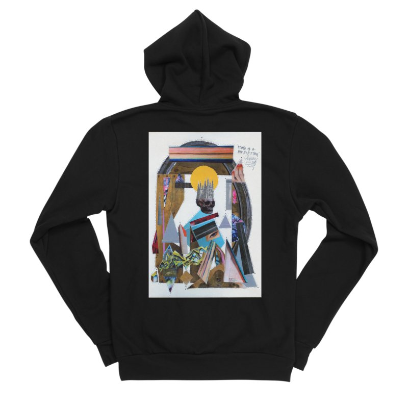 Death of a Hip Hop star Women's Zip-Up Hoody by manyeyescity's Artist Shop