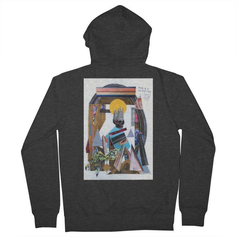 Death of a Hip Hop star Men's Zip-Up Hoody by manyeyescity's Artist Shop