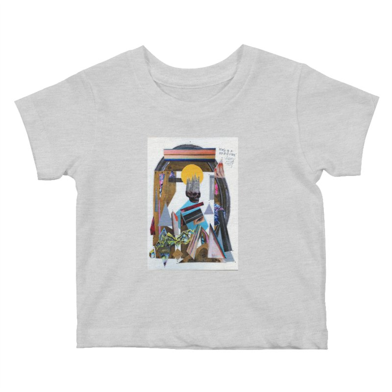 Death of a Hip Hop star Kids Baby T-Shirt by manyeyescity's Artist Shop