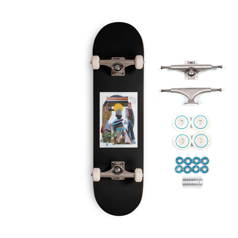 Death of a Hip Hop star Accessories Skateboard by manyeyescity's Artist Shop