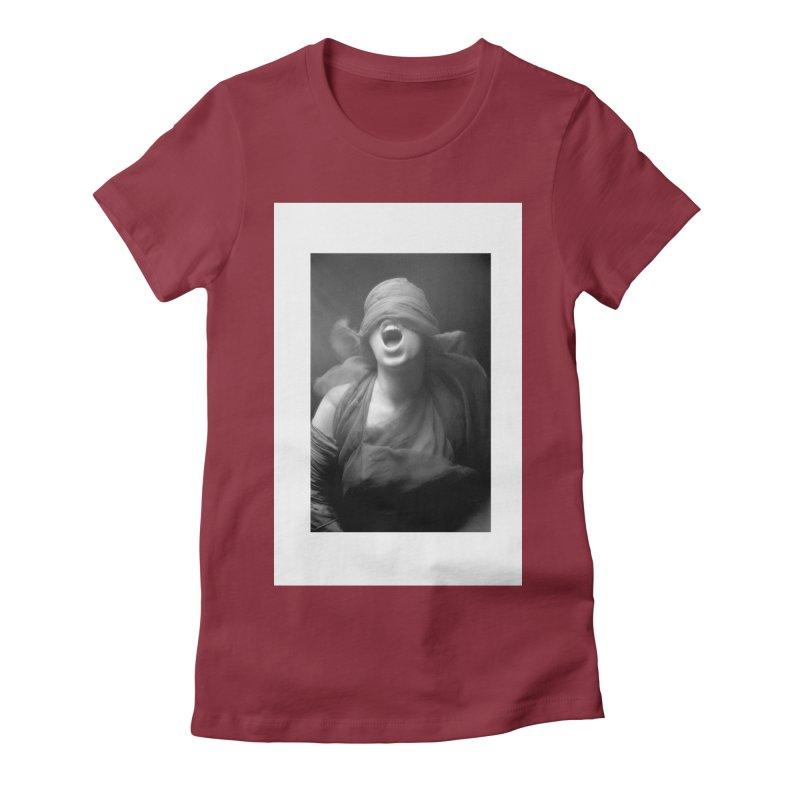 the shrieking Women's T-Shirt by manyeyescity's Artist Shop