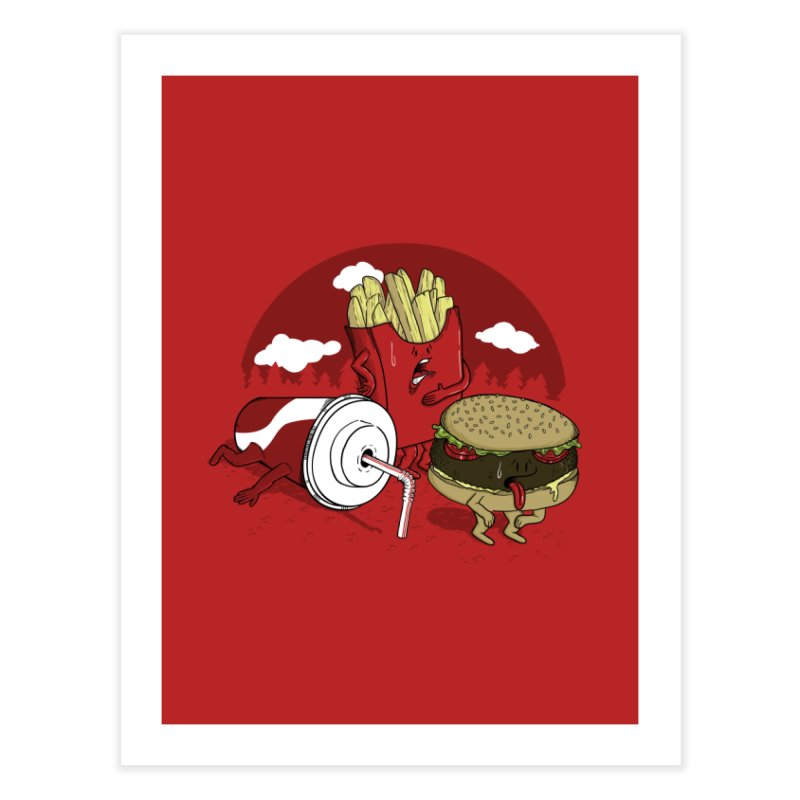 Not so fast food Home Fine Art Print by maortoubian's Artist Shop
