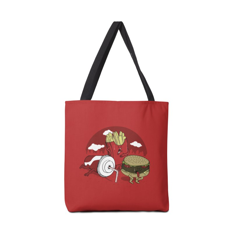 Not so fast food Accessories Bag by maortoubian's Artist Shop