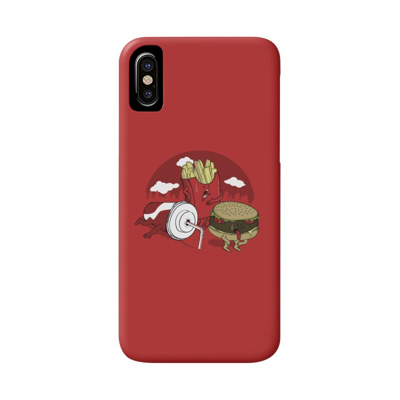 Not so fast food Accessories Phone Case by maortoubian's Artist Shop