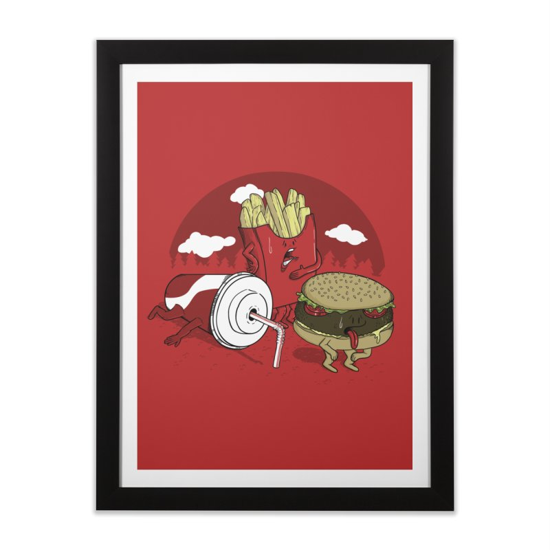 Not so fast food Home Framed Fine Art Print by maortoubian's Artist Shop