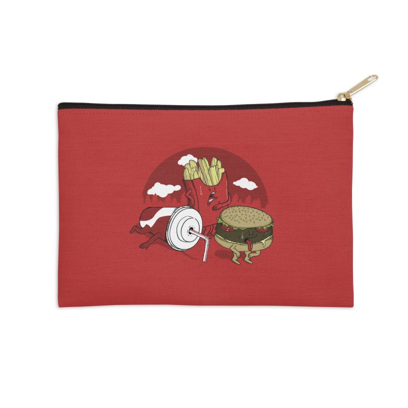 Not so fast food Accessories Zip Pouch by maortoubian's Artist Shop