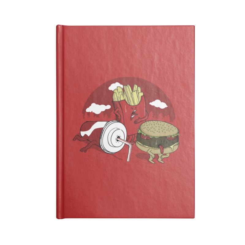 Not so fast food Accessories Notebook by maortoubian's Artist Shop