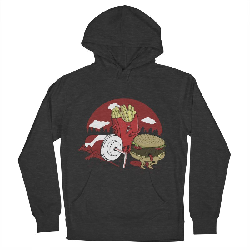 Not so fast food Women's Pullover Hoody by maortoubian's Artist Shop