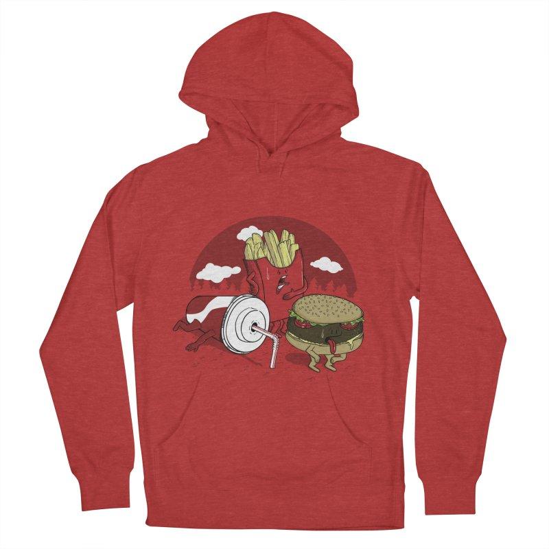 Not so fast food Women's Pullover Hoody by maortoubian's Artist Shop