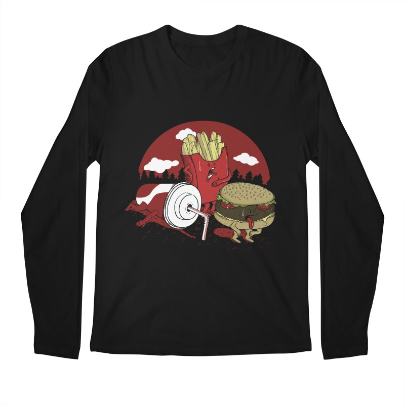 Not so fast food Men's Longsleeve T-Shirt by maortoubian's Artist Shop
