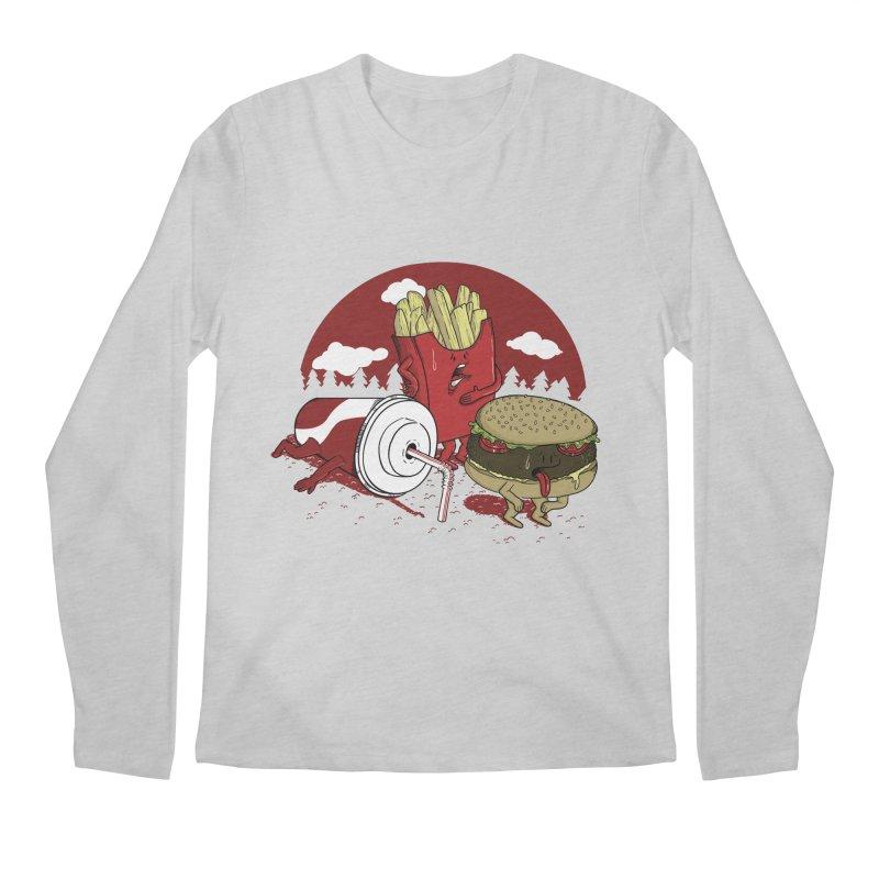 Not so fast food Men's Longsleeve T-Shirt by maortoubian's Artist Shop