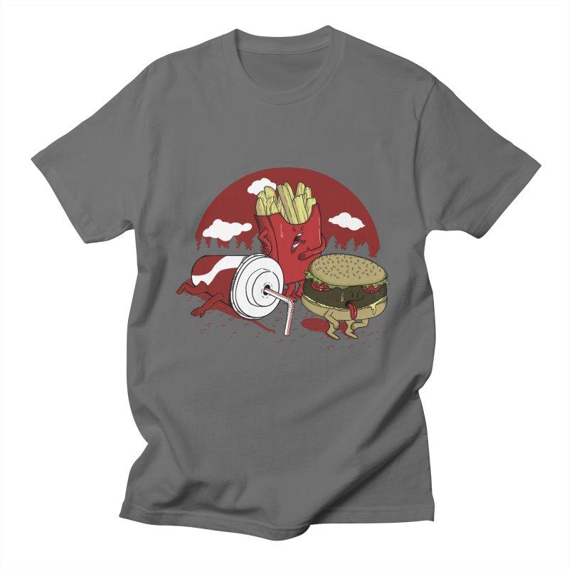 Not so fast food Men's T-shirt by maortoubian's Artist Shop