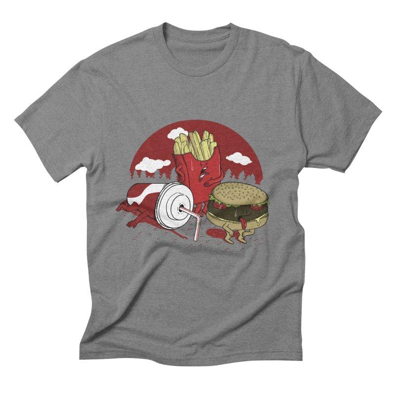 Not so fast food Men's Triblend T-Shirt by maortoubian's Artist Shop