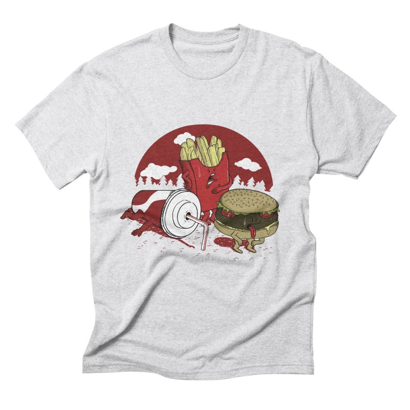 Not so fast food Men's Triblend T-shirt by maortoubian's Artist Shop