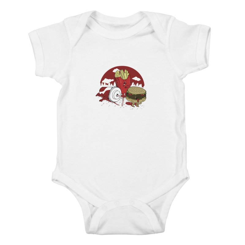 Not so fast food Kids Baby Bodysuit by maortoubian's Artist Shop
