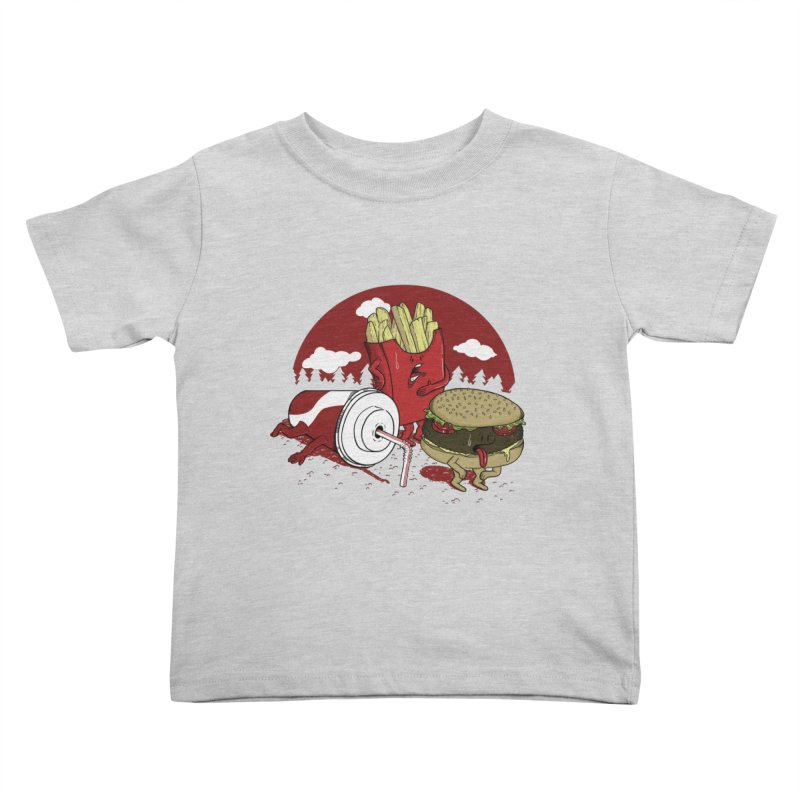 Not so fast food Kids Toddler T-Shirt by maortoubian's Artist Shop