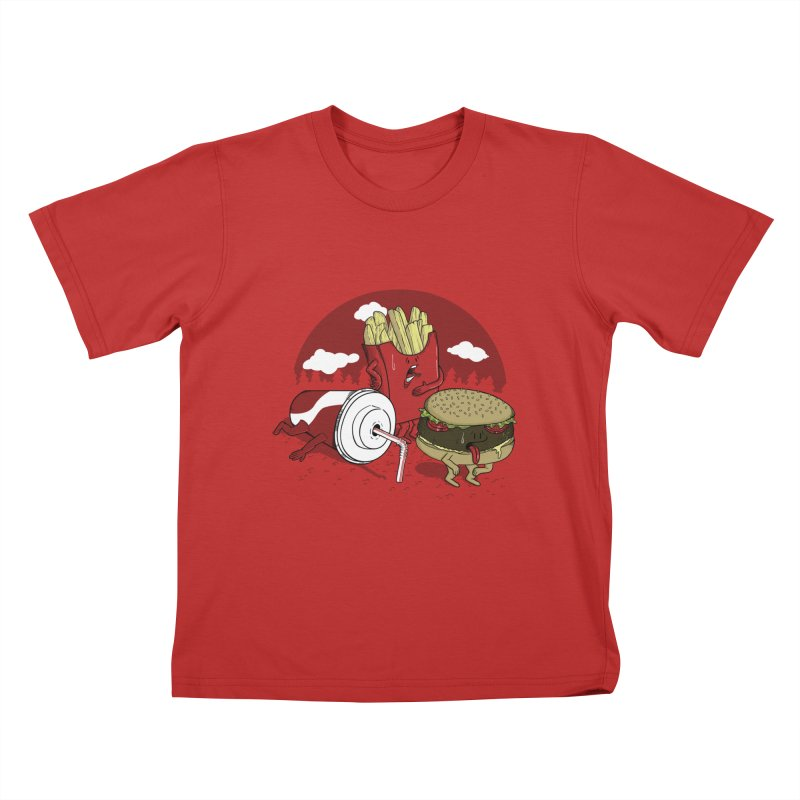 Not so fast food Kids T-shirt by maortoubian's Artist Shop