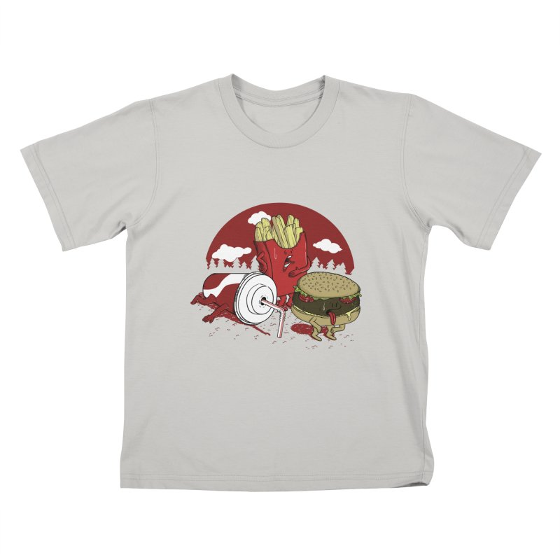 Not so fast food Kids T-shirt by maortoubian's Artist Shop