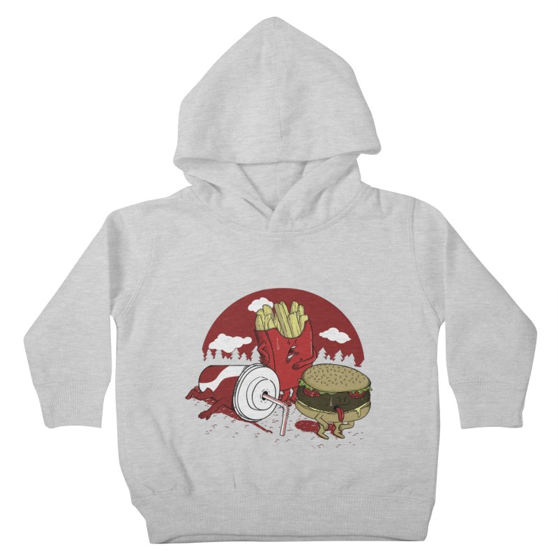 Not so fast food Kids Toddler Pullover Hoody by maortoubian's Artist Shop