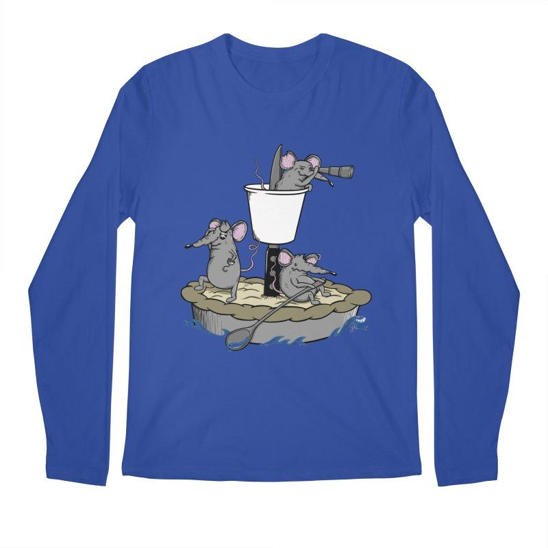 PieRats Men's Longsleeve T-Shirt by maortoubian's Artist Shop
