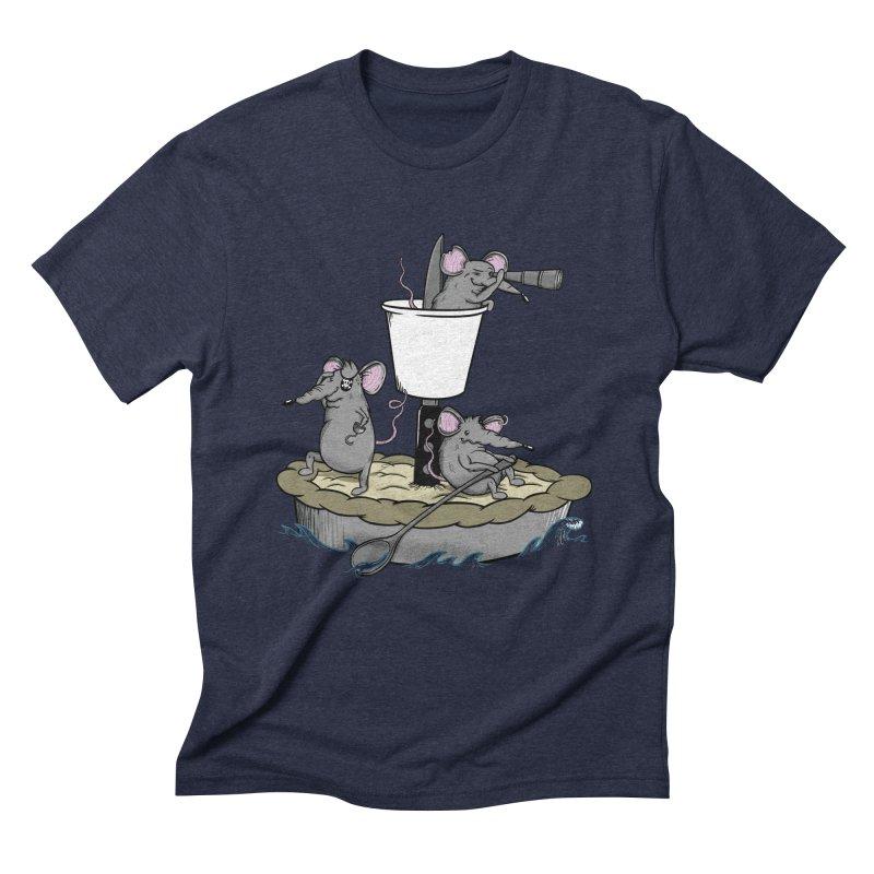 PieRats Men's Triblend T-Shirt by maortoubian's Artist Shop