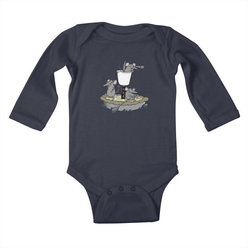 PieRats Kids Baby Longsleeve Bodysuit by maortoubian's Artist Shop