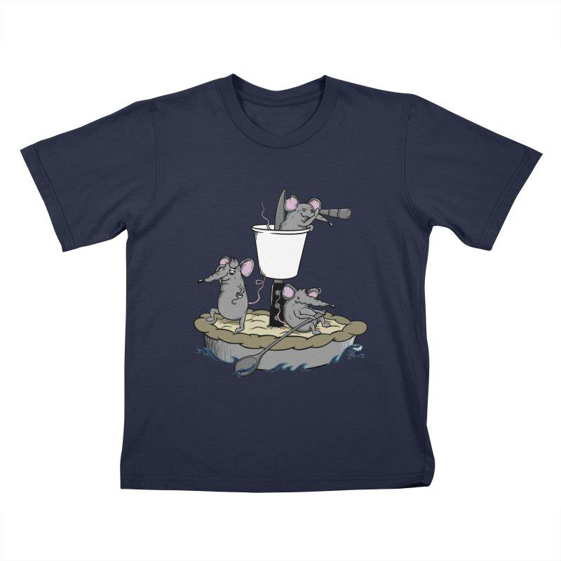 PieRats Kids T-Shirt by maortoubian's Artist Shop