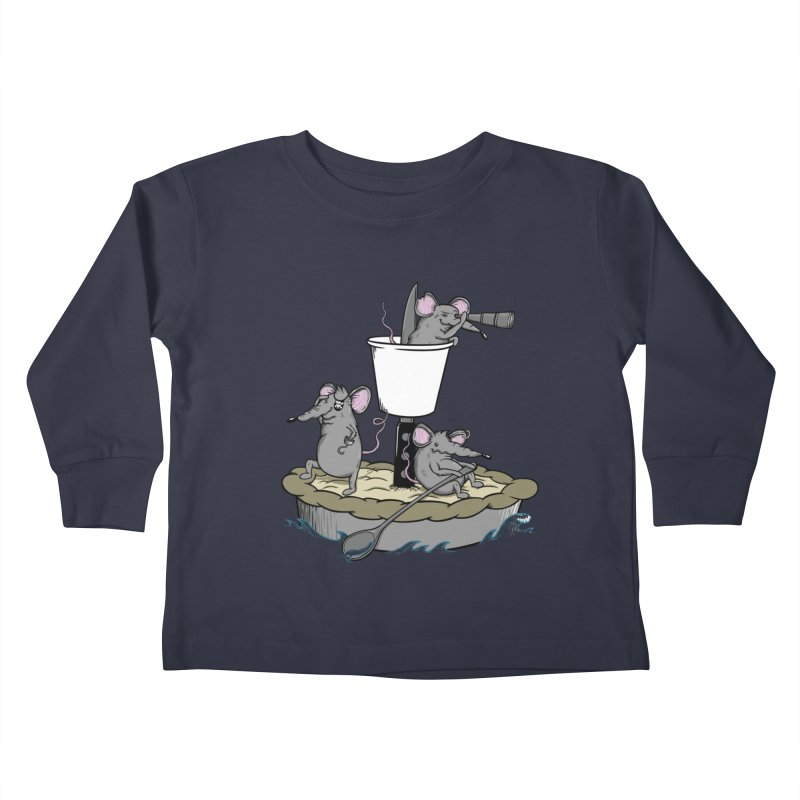 PieRats Kids Toddler Longsleeve T-Shirt by maortoubian's Artist Shop