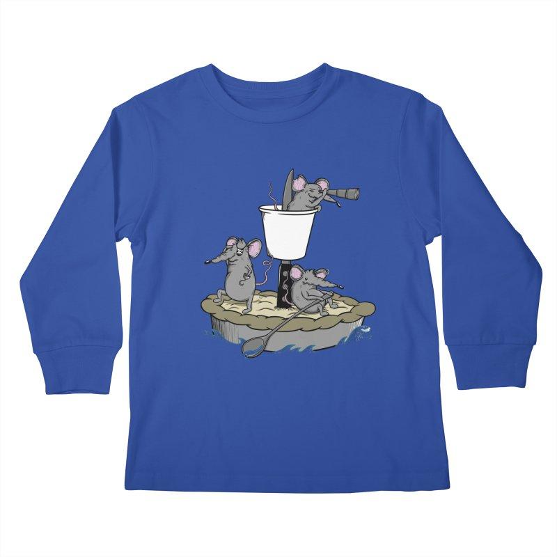 PieRats Kids Longsleeve T-Shirt by maortoubian's Artist Shop